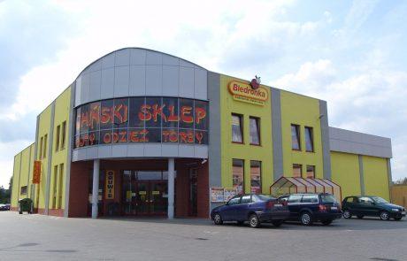 Budynek handlowy [Sieradz]