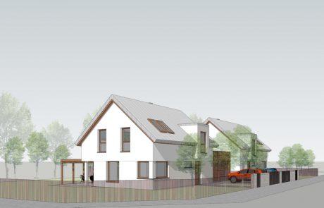 Projekt budynku mieszkalnego jednorodzinnego