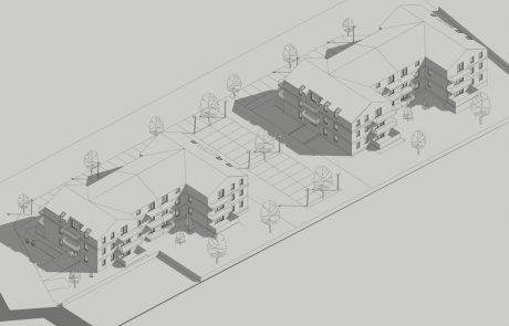 Projekt budynku mieszkalnego wielorodzinnego