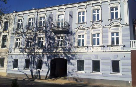 Kamienica Wieluń - remont elewacji
