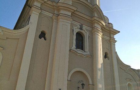 Kościół Brzeźnio - remont elewacji