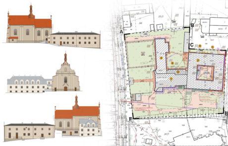 Projekt remontu - Klasztor Warta