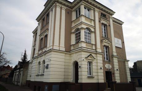 Kamienica Sieradz - remont elewacji