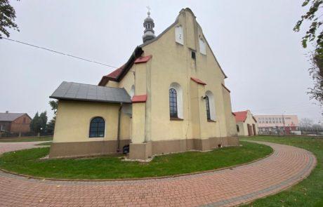 Kościół Wierzchlas - remont dachu